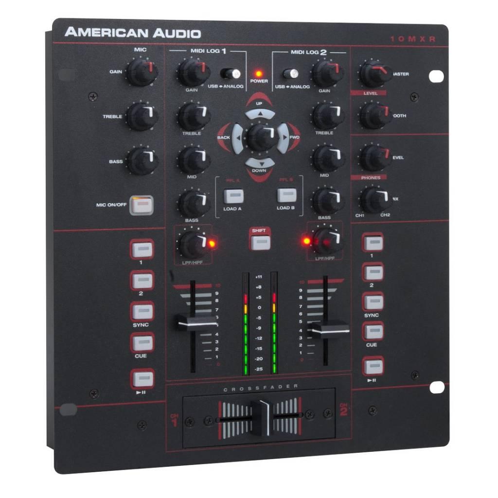 Nuevo mixer American Audio 10 MXR