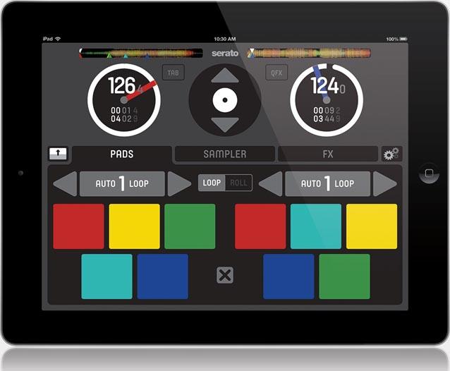Serato remote la app oficial de serato para ipad for App para disenar muebles ipad