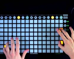 Rutina de Zambuseta con Novation Launchpad