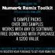Numark regala samples al comprar sus controladores Mixtrack