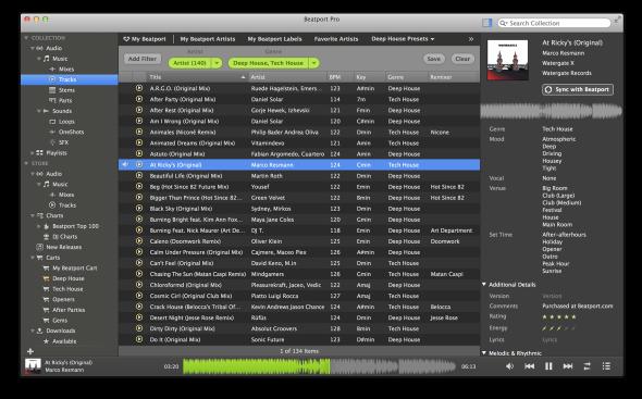 Beatport Pro, la aplicación que pretende vencer a iTunes