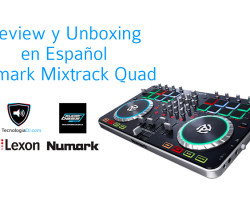 Review y Unboxing en español del Numark Mixtrack Quad