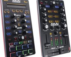 Nuevos controladores Akai AFX y Akai AMX para Serato DJ