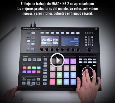 Nuevos tutoriales en español de Native Instruments para manejar Maschine