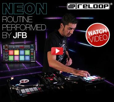 Demo oficial de Reloop Neon con JFB