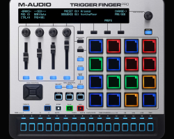 Rutina de Carl Rag con M-Audio Trigger Finger Pro