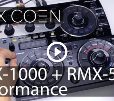 Rutina de Max Coen con un Pioneer RMX-1000 y un Pioneer RMX-500