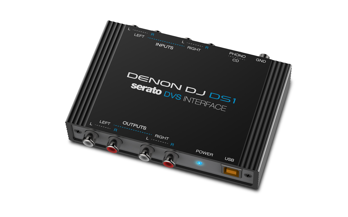 Denon DS1, nuevo interface compatible con Serato