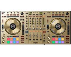 Nueva y espectacular edición limitada Pioneer DDJ-SZ-N en color dorado