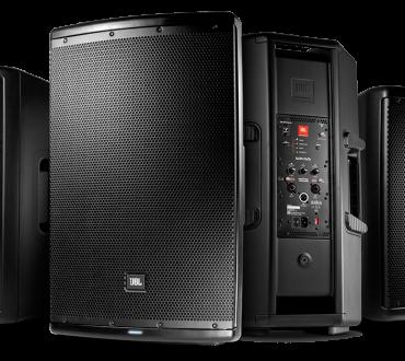 Nuevos altavoces JBL EON 610, JBL EON 612 y JBL EON 615
