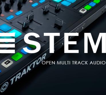 Stems, nuevo formato de audio abierto y multipista