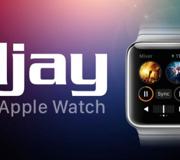 Presentado djay 2 de Algoriddim para Apple Watch