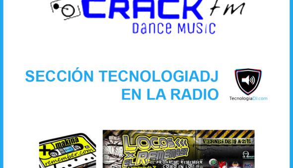 Sección TecnologiaDJ.com en la radio – 03/07/2015