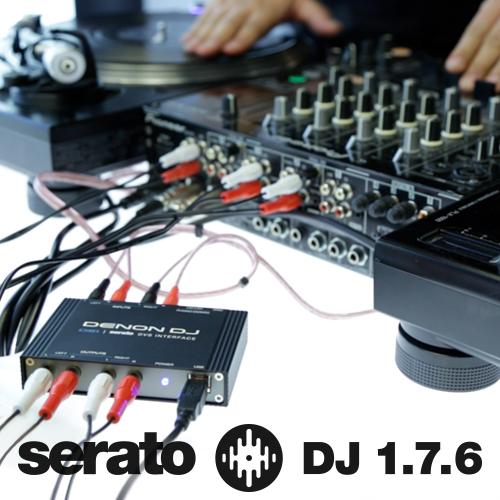 Publicado Serato DJ 1.7.6 con soporte nativo para la interface Denon DS1