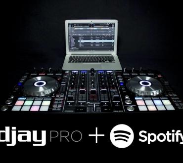 Disponible djay Pro 1.2 con control por gestos del trackpad e integración con más controladores