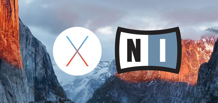 Los productos de Native Instruments ya son compatibles con Mac OS X El Capitan