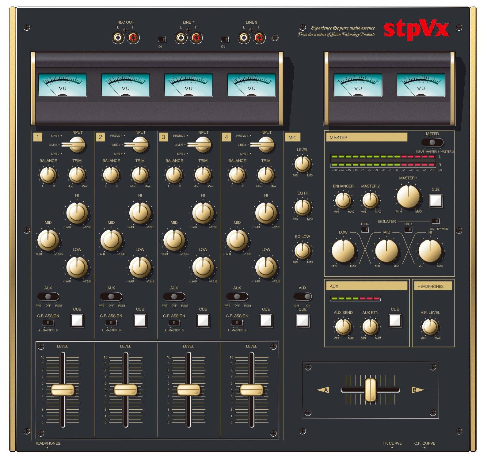 Imágenes del nuevo mixer de stpVx, la nueva marca del fundador de Vestax