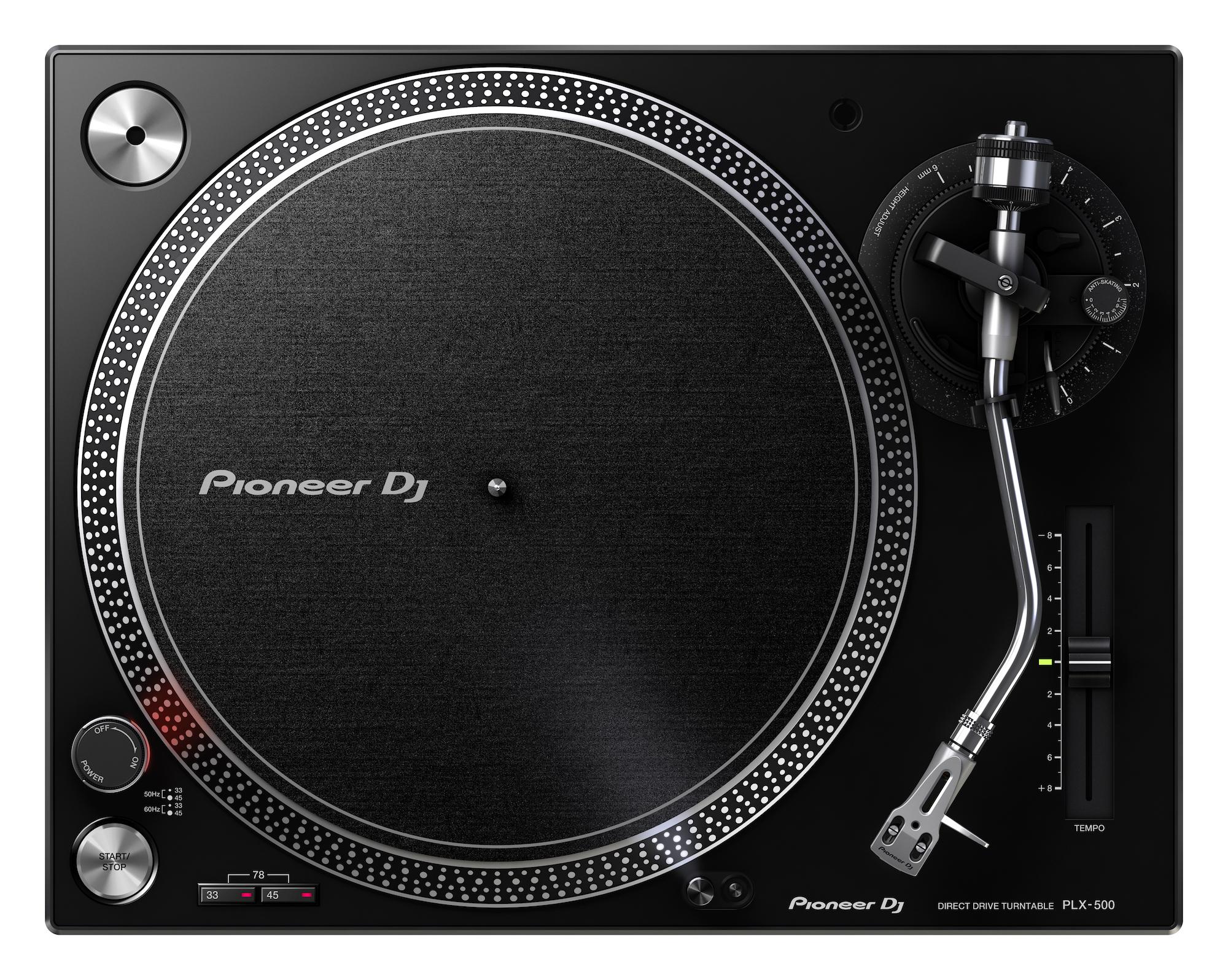 Nuevo plato Pioneer PLX-500 para DJs y amantes de los vinilos