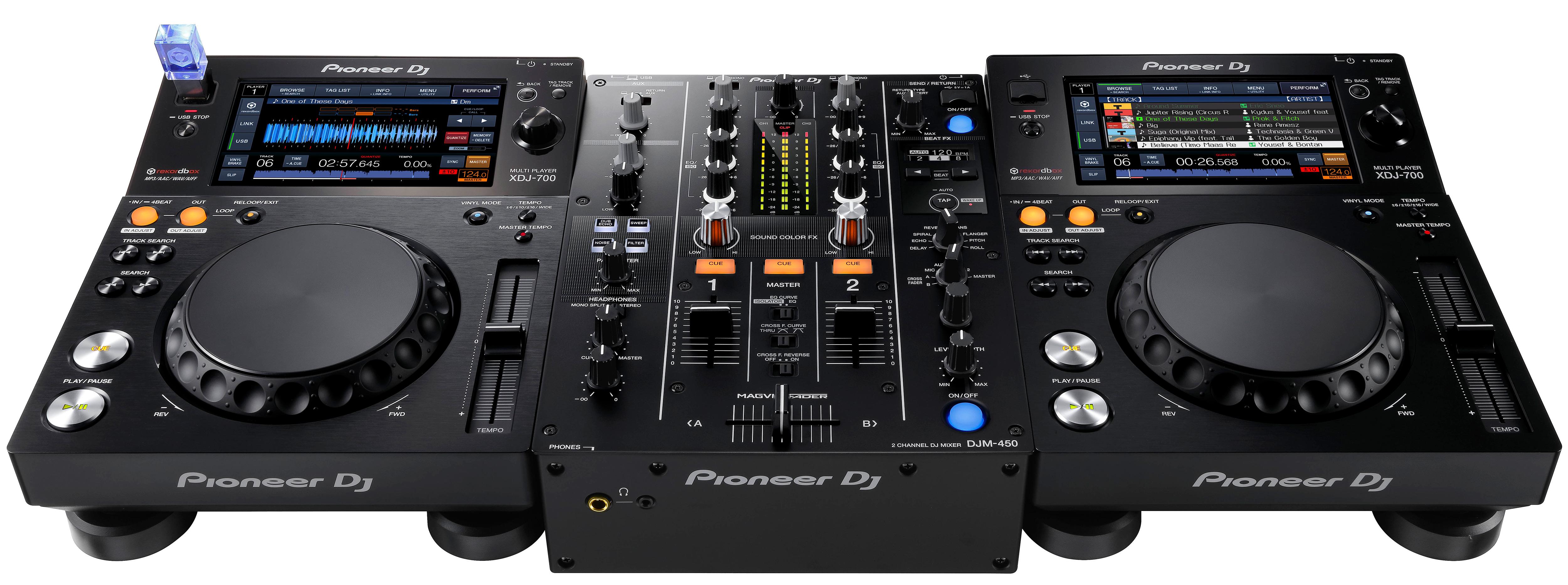 Rutina Alex Moreno con los nuevos Pioneer XDJ-1000MK2 y el mixer Pioneer DJM-450