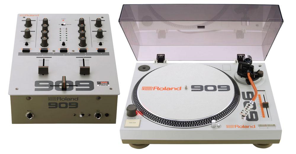 Roland TT-99 y Roland DJ-99, primer plato y mixer del fabricante japonés
