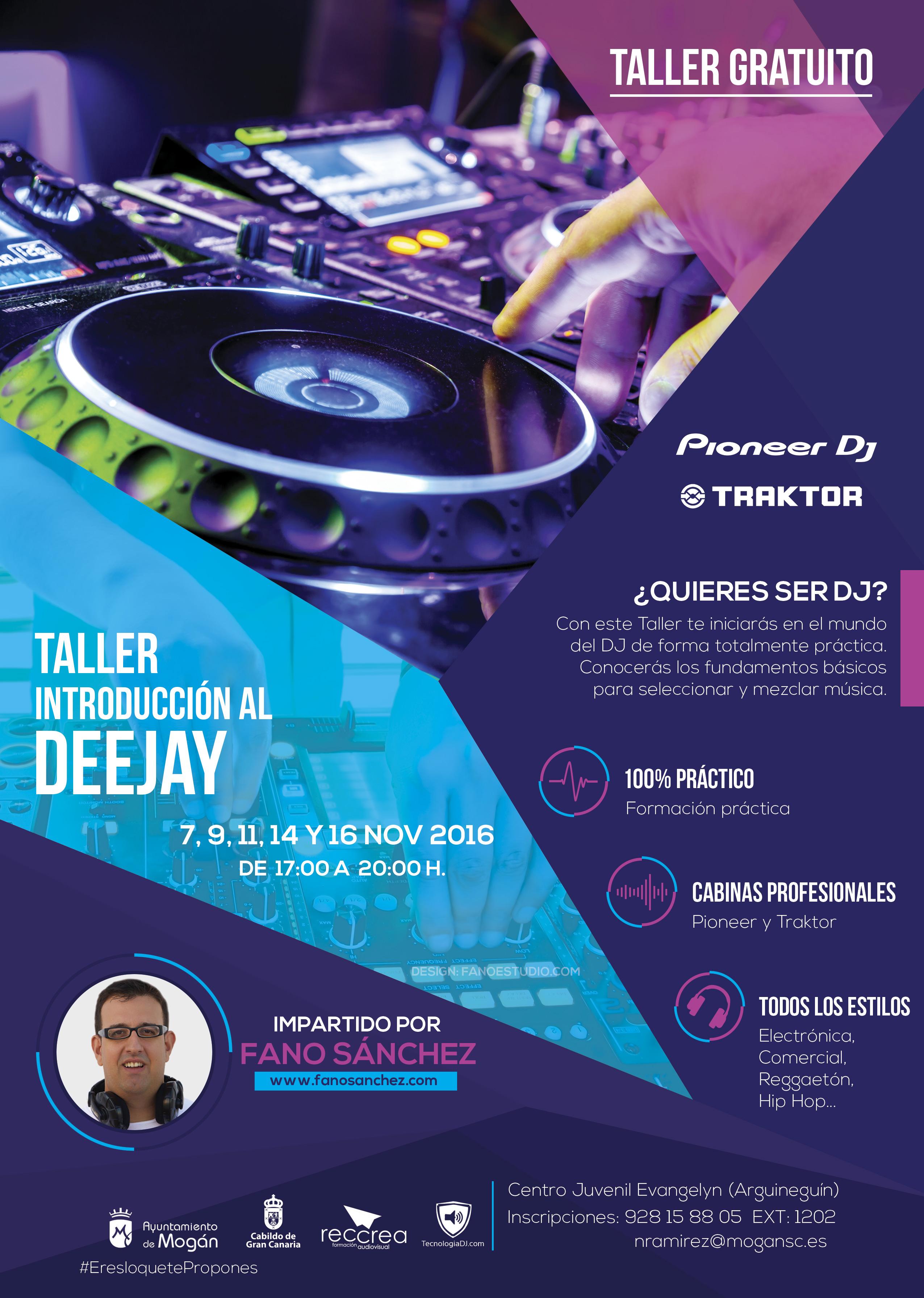 Taller de Introducción al DJ en Gran Canaria