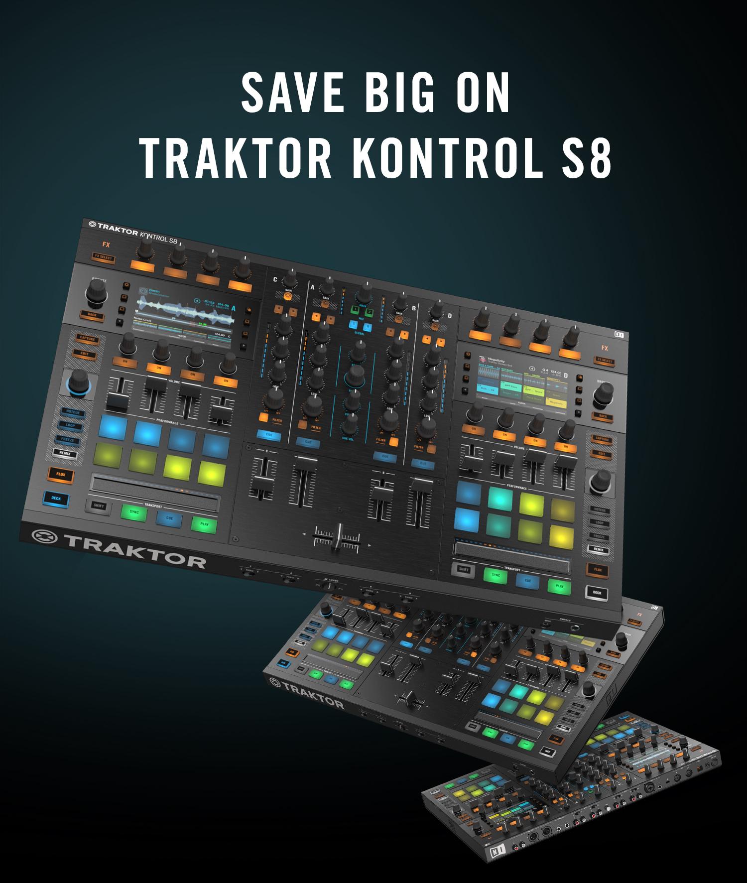 Native Instruments rebaja el Traktor Kontrol S8 200 euros por tiempo limitado