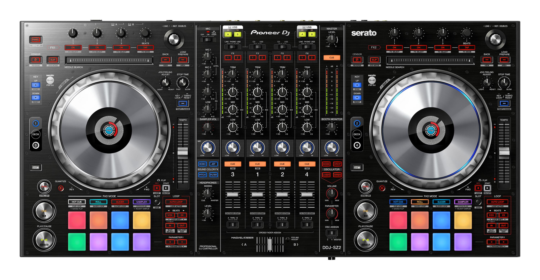 Nuevo controlador Pioneer DDJ-SZ2 totalmente compatible con Serato DJ
