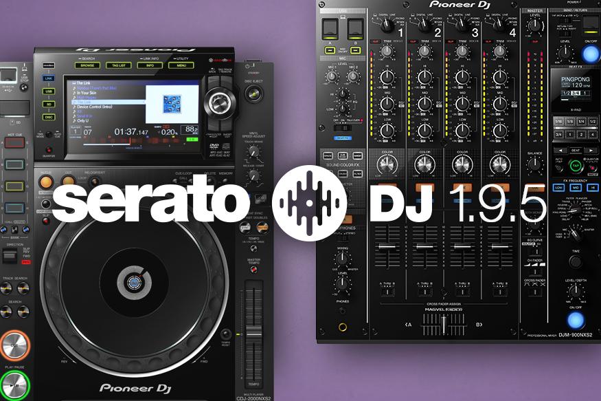 Serato DJ 1.9.5 ya está disponible