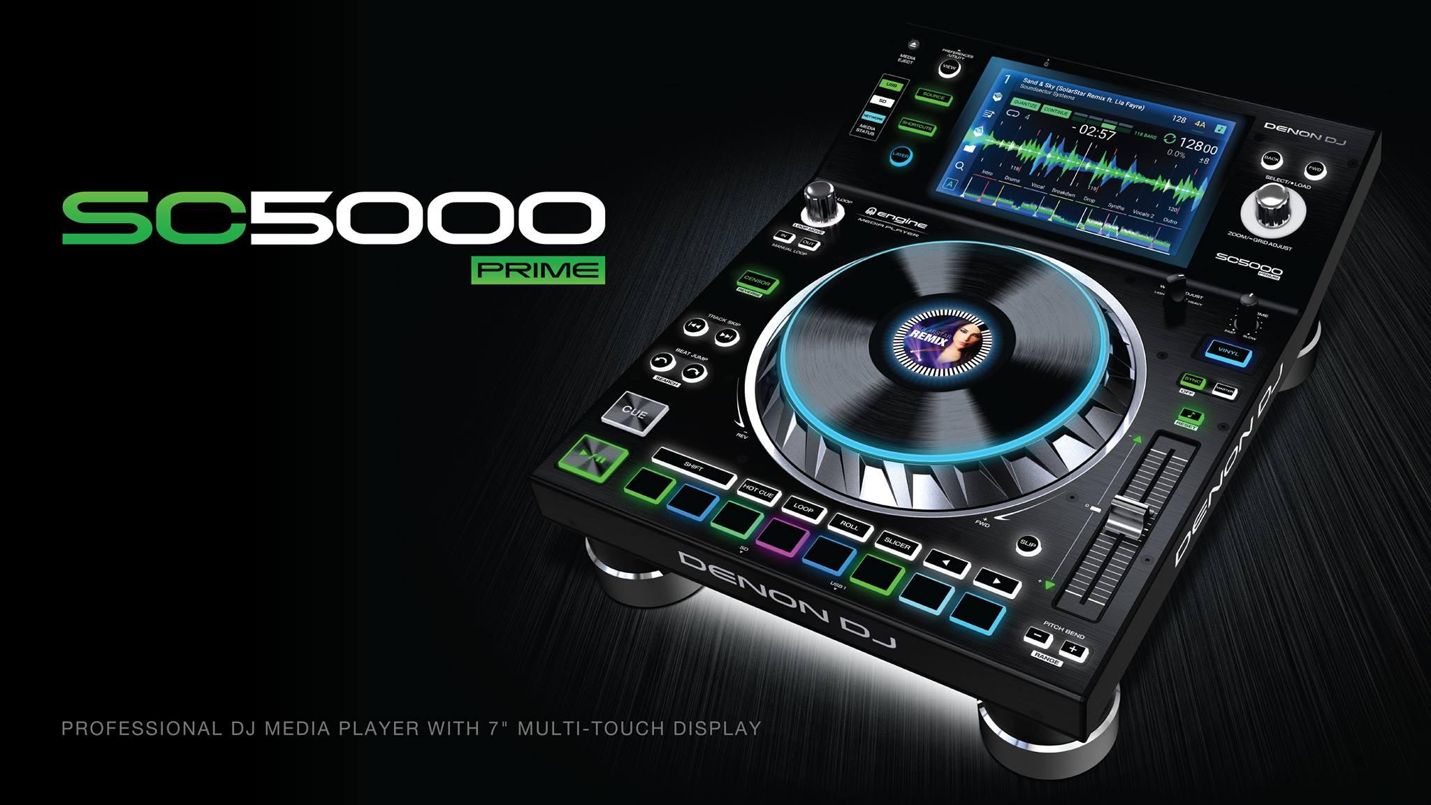 Nuevo e impresionante reproductor multimedia Denon SC5000