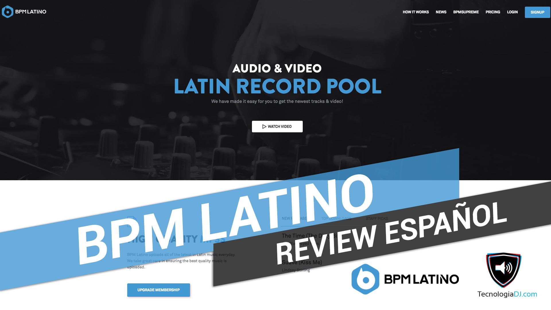 Review en español record pool BPM Latino