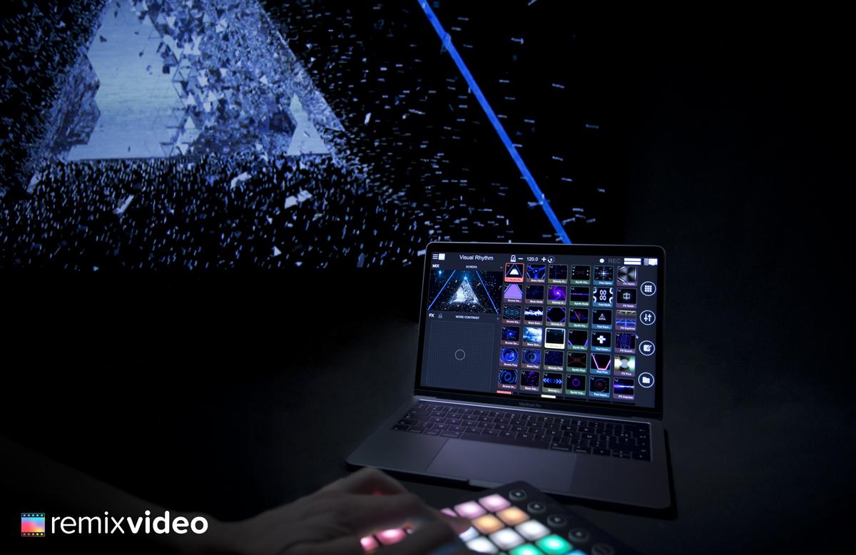 Mixvibes lanza su nueva aplicación Remixvideo que combina video y audio