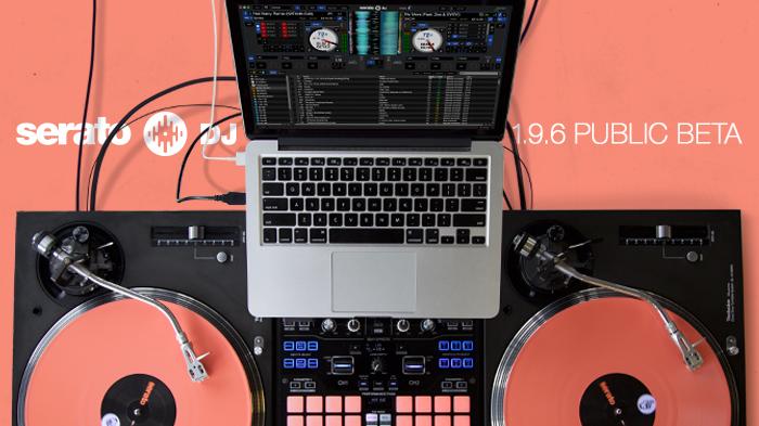 Serato DJ 1.9.6 beta ya disponible