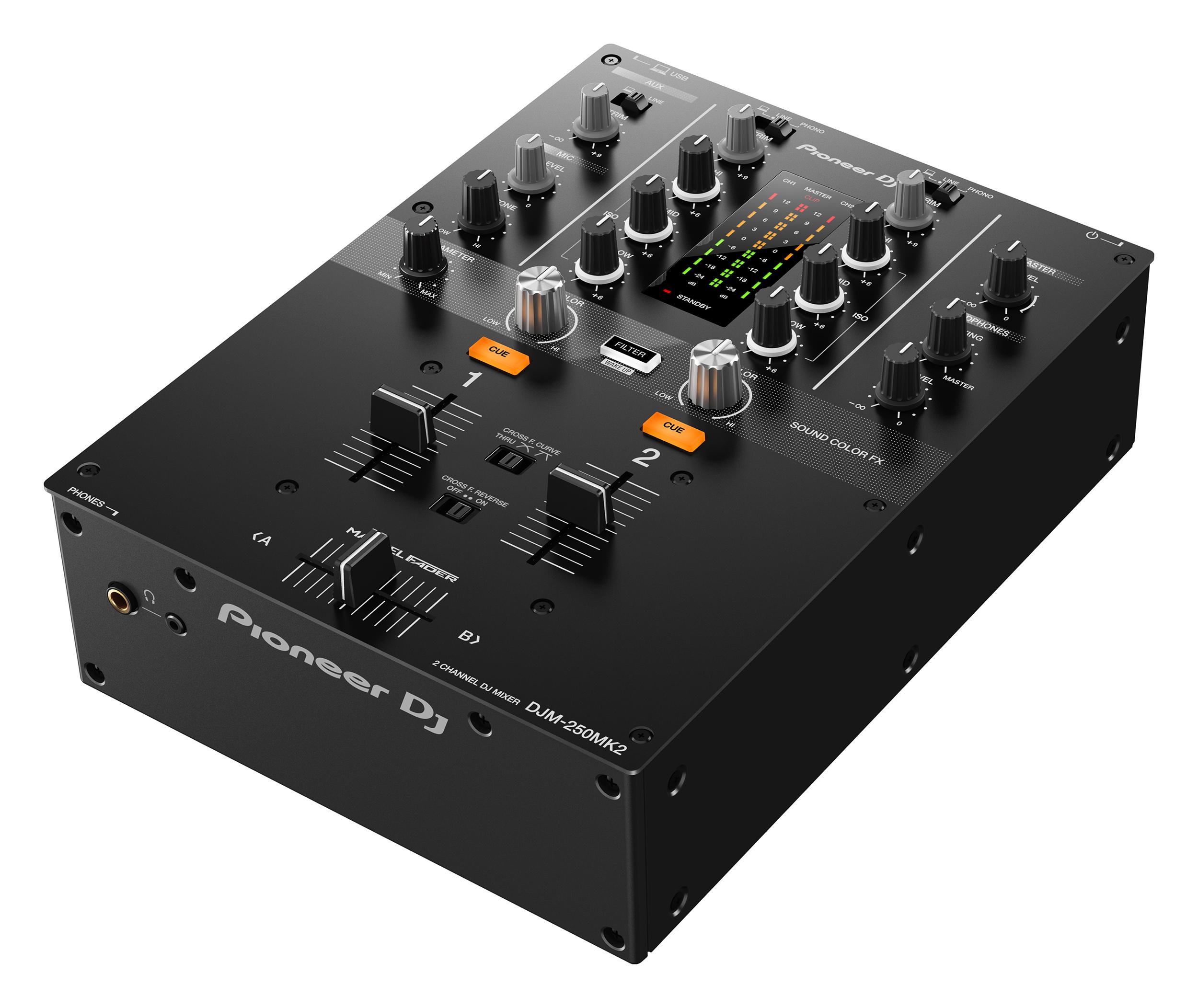 Nuevo mixer Pioneer DJM-250MK2