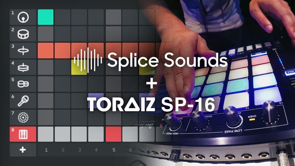 Pioneer TORAIZ SP-16 a través de Slice es el primer hardware que permite la creación de música en la nube