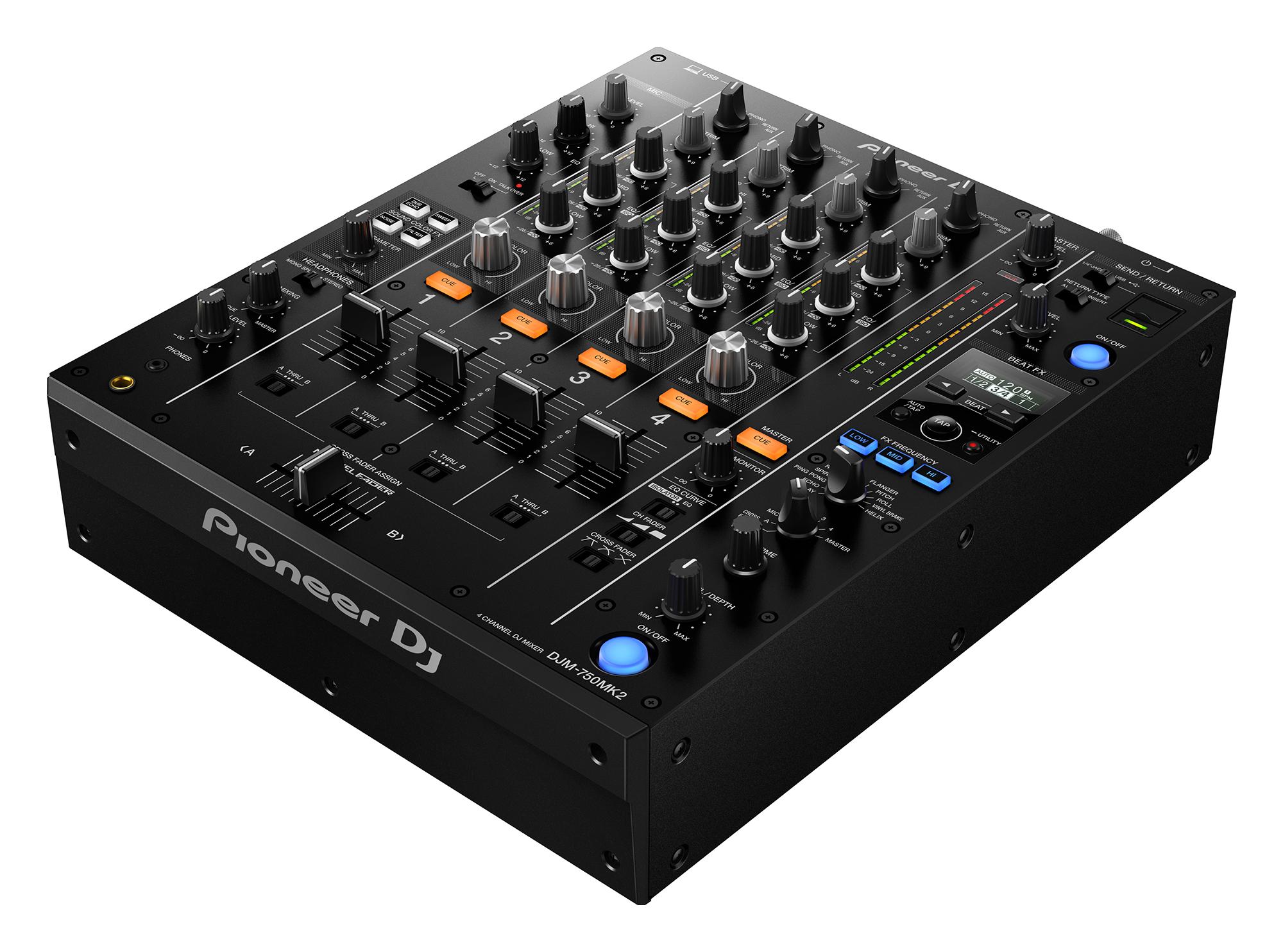 Nuevo mixer Pioneer DJM-750MK2 ya a la venta
