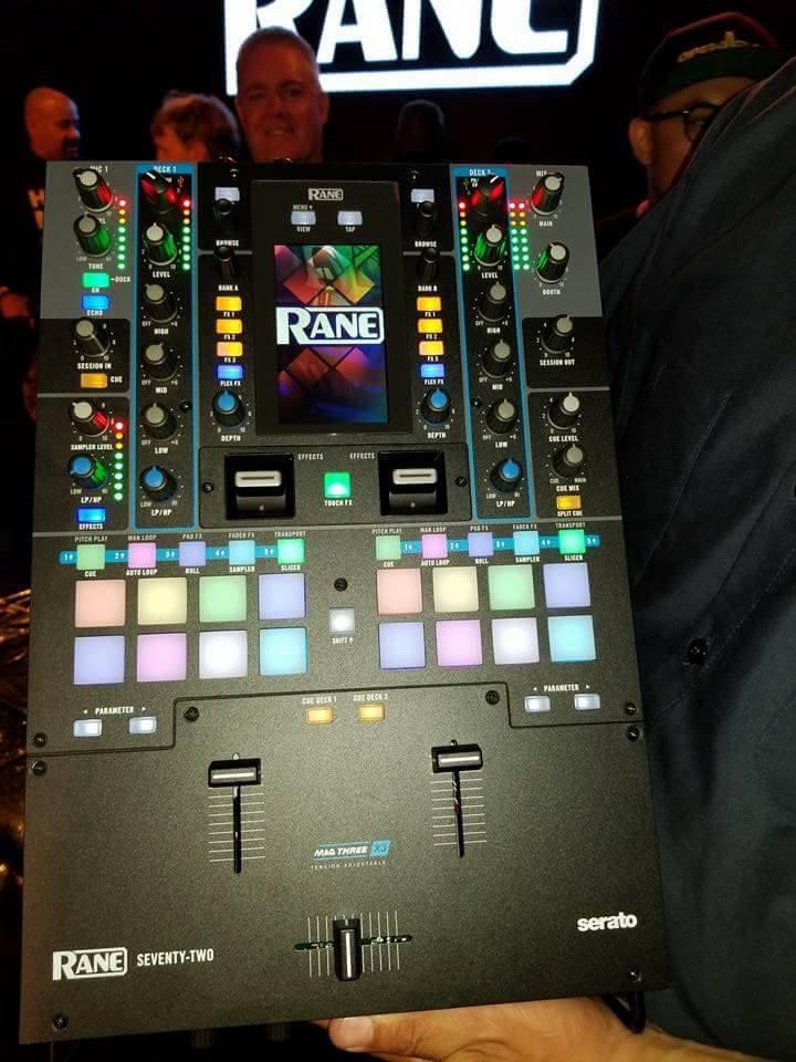 Primeras imágenes del nuevo mixer Rane Seventy-Two
