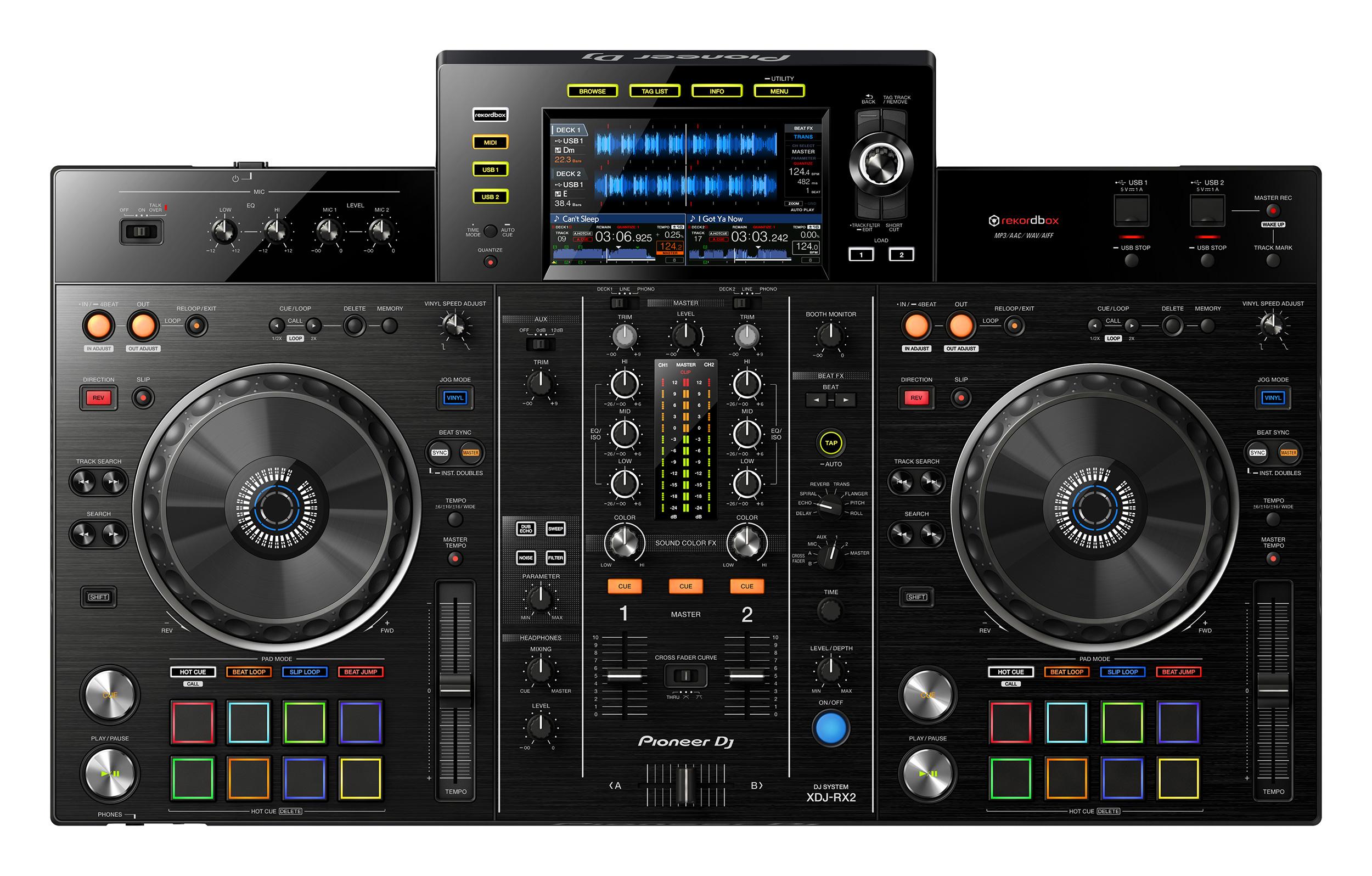 Pioneer XDJ-RX2, renovación del todo en uno de Pioneer DJ