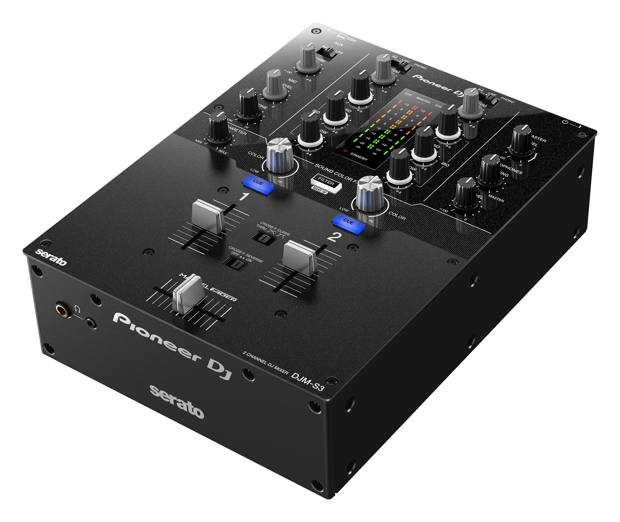 Pioneer DJM-S3, nuevo mixer de Pioneer DJ compatible con Serato DJ