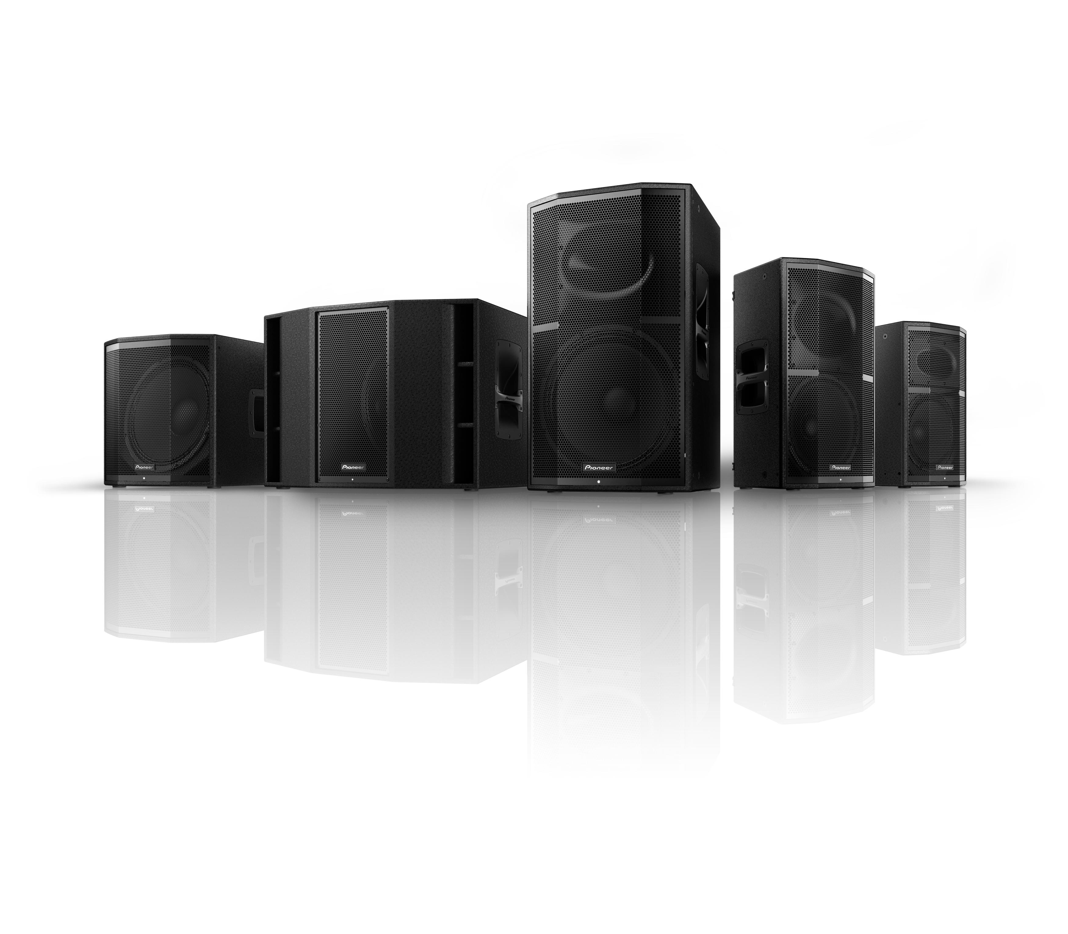 Pioneer Pro Audio presenta dos nuevos altavoces activos: Pioneer XPRS10 y Pioneer XPRS115S