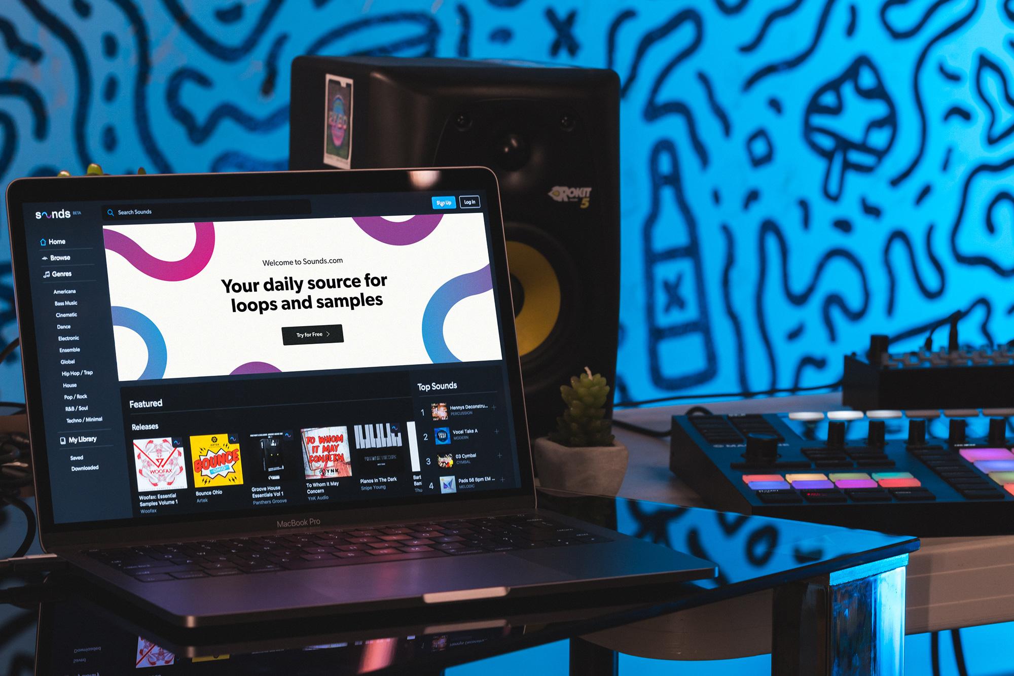 Native Instruments presenta Sounds.com, su nueva plataforma para descargar loops, samples y sonidos