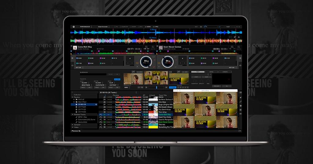 Pioneer DJ lanza la actualización Rekordbox 5.1.0 y su nuevo Plus Plack Rekordbox Lyric
